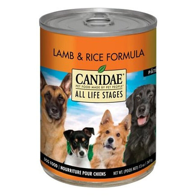 Canidae All Life Stages For All Dogs - Lamb & Rice Formula Canned Dog Food 13 oz image number null