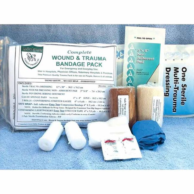 America's Acres Wound & Trauma Bandage Pack image number null