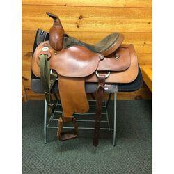 Used Fabtron Trail Western Saddle