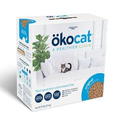 Okocat Original Premium Clumping Wood Cat Litter, 19.8lb