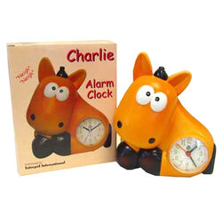 Intrepid Charlie Alarm Clock