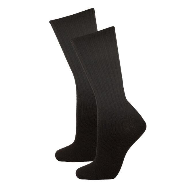 Janus Black Wool Unisex Socks image number null