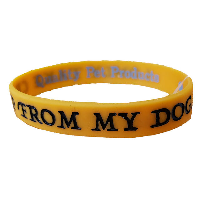 """Wild Meadow Farms Fur Baby Bands """"""""I Only Take Crap From My Dog"""""""""""" image number null"""