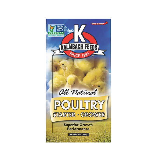 Kalmbach 20% Flock Starter Grower Crumbles image number null