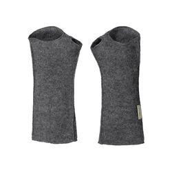 Ruskovilla Adult Gray Wool Wrist Warmers