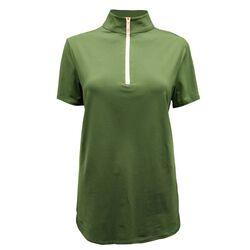 Tailored Sportsman Short Sleeve Icefil Zip Top Shirt