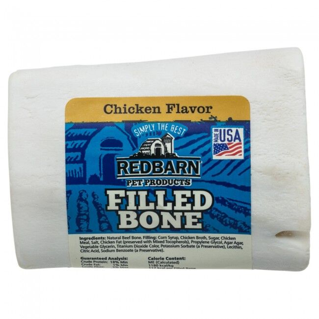"Redbarn Chicken Filled Bone Dog Treat 2"" image number null"