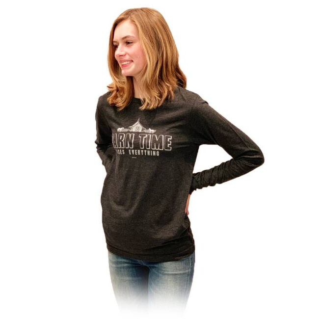 """Stirrups """"Barn Time"""" Long-Sleeved Tee Shirt image number null"""
