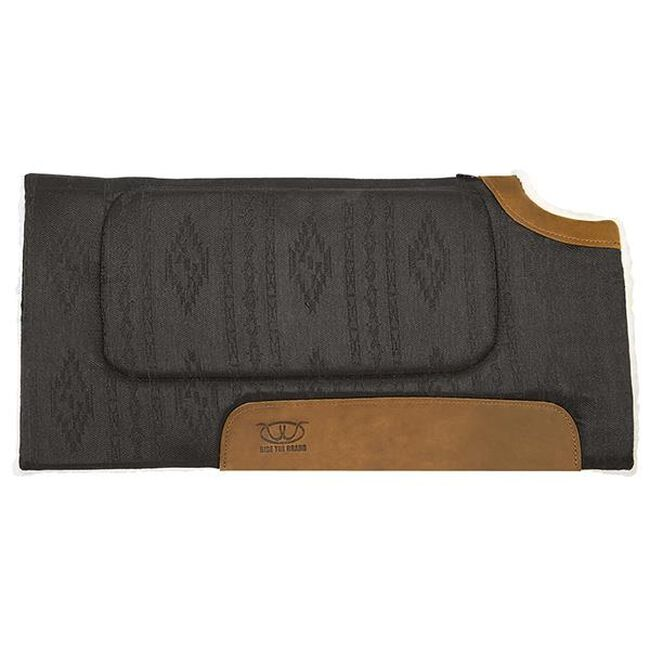 Weaver Leather All Purpose Cut Back Saddle Pad - Black  image number null