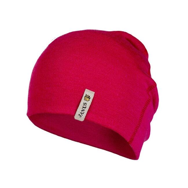 Janus Merino Wool Kid's Beanie - Pink image number null