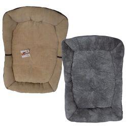 All For Pets Herringbone Bolster Bed