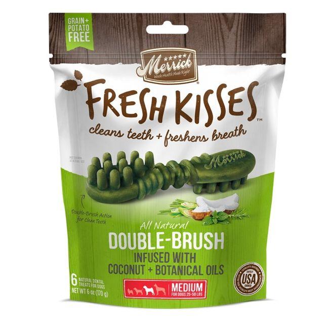 Merrick Fresh Kisses Dog Dental Treats Small Dog Coconut 9 count image number null