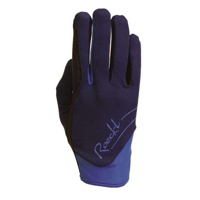 Roeckl June Winter Riding Glove - Navy image number null