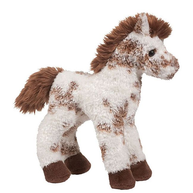 Douglas Stoney, Brown & White Appaloosa Plush Toy image number null
