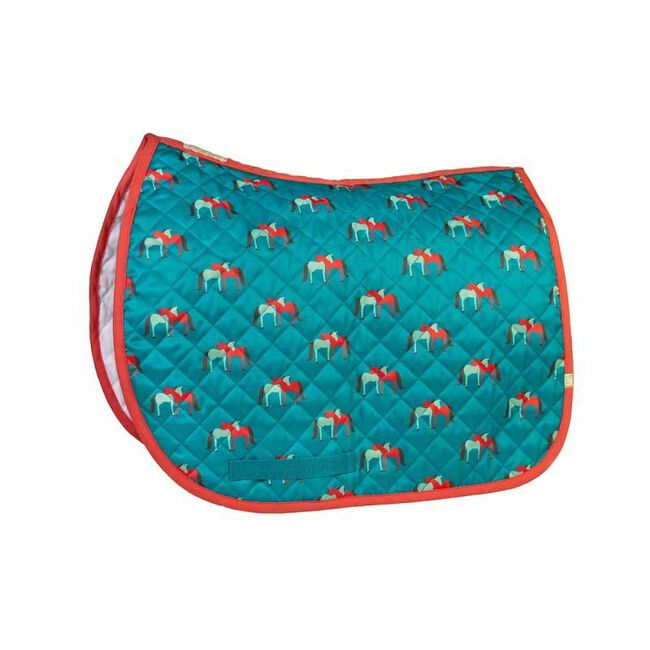 Union Hill Printed Baby Pads - Hugging Horses image number null