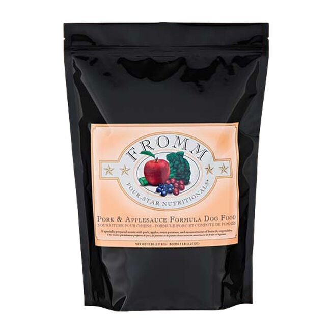 Fromm Four Star Pork & Applesauce Recipe Dry Dog Food - 30 lb image number null