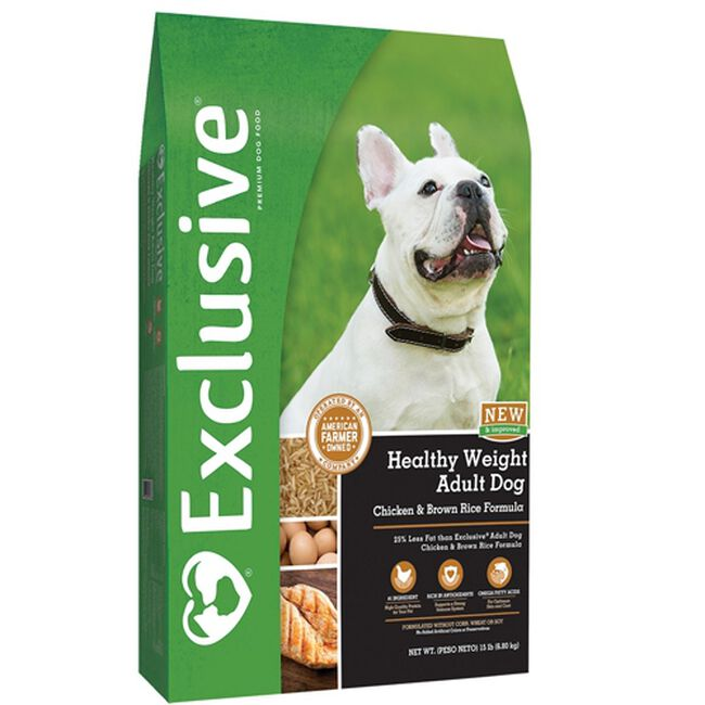 Exclusive Healthy Weight Dry Dog Food image number null