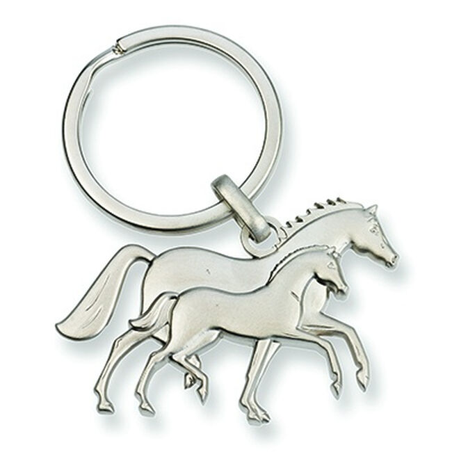 Kelley Equestrian Mare & Foal Keychain image number null
