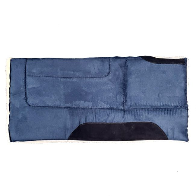 Toklat Microsuede Cut Back Square Pad - Navy image number null