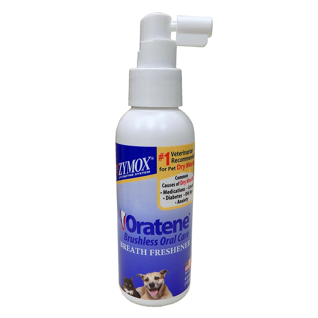 Zymox Oratene Breath Freshener for Cats & Dogs image number null