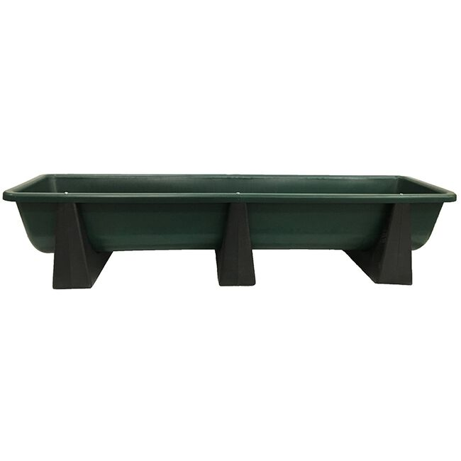 """High Country Plastics Bunk Feeder 86"""", 82 Gallon image number null"""