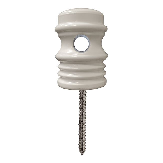 Zareba Duralator Wood Post Self-Drilling Insulator image number null