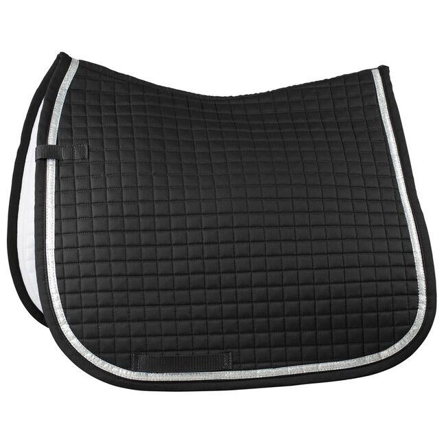 Horze Thun Dressage Saddle Pad - Black image number null