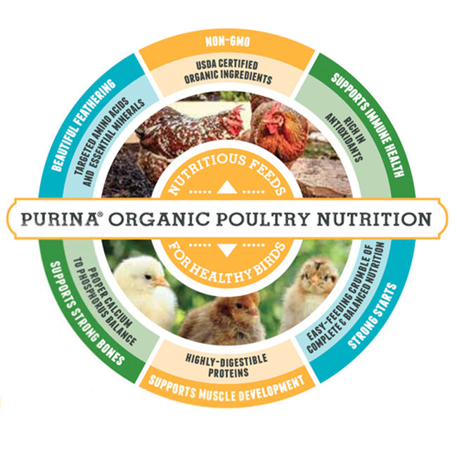 Organic Poultry Starter - Grower image number null