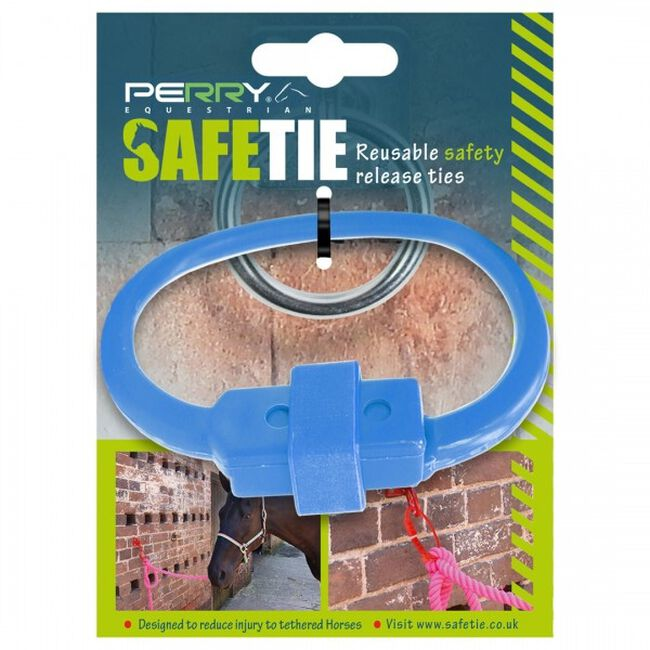 Perry Equestrian SafeTies - Blue image number null