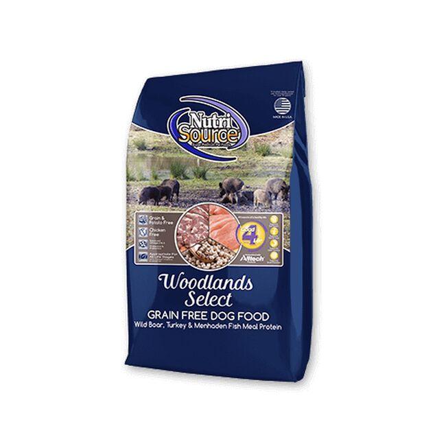 NutriSource Woodlands Select Grain Free Dry Dog Food image number null