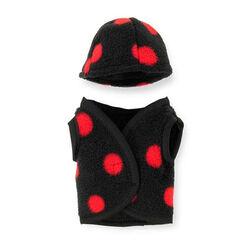 Crafty Ponies Vest/Helmet Cover - Red/Black