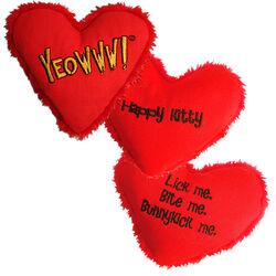 Yeowww! Catnip Heart Cat Toy