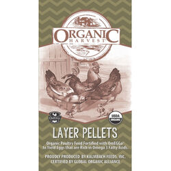 Kalmbach Organic Harvest 17% Organic Layer Pellets with Omegga