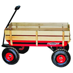 Speedway Big Red Wagon with Sides