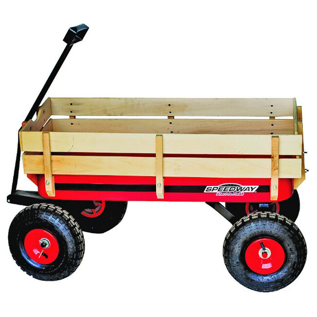 Speedway Big Red Wagon with Sides image number null