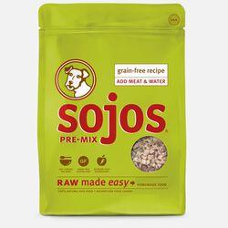 Sojos Pre-Mix Dog Food Grain-Free Recipe