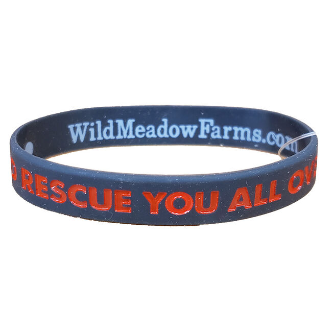 """Wild Meadow Farms Fur Baby Bands """"""""I'd Rescue You All Over Again"""""""""""" image number null"""