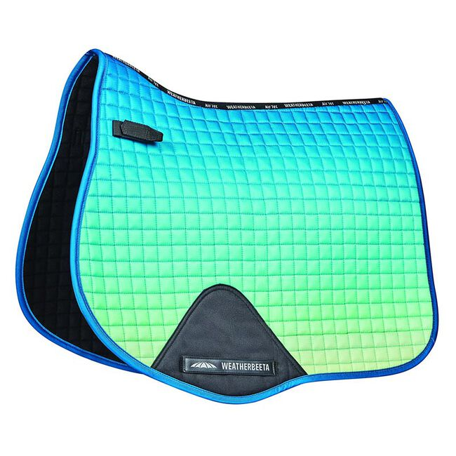 WeatherBeeta Prime Ombre All Purpose Saddle Pad, Ocean's Reef image number null