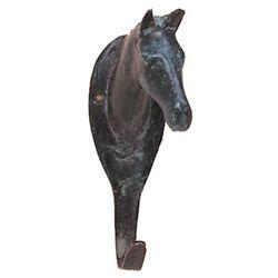 Patina Finish Horse Head Hook