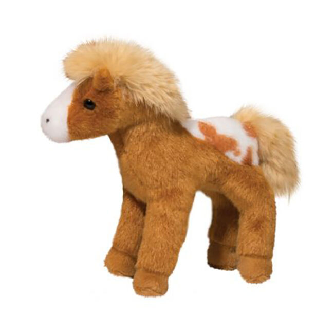 Douglas Rey Golden Appaloosa Plush Toy image number null