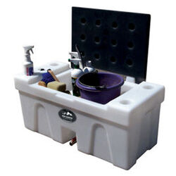 High Country Plastics Bench Water Caddy - 25 Gal.
