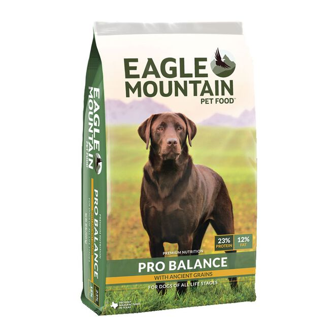 Eagle Mountain Pet Food Pro Balance Dog Food - 40lb image number null