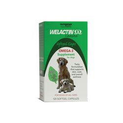 Welactin Canine Soft Gel 120 ct
