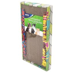 Ware Corrugated Fancy Scratcher Cat Toy