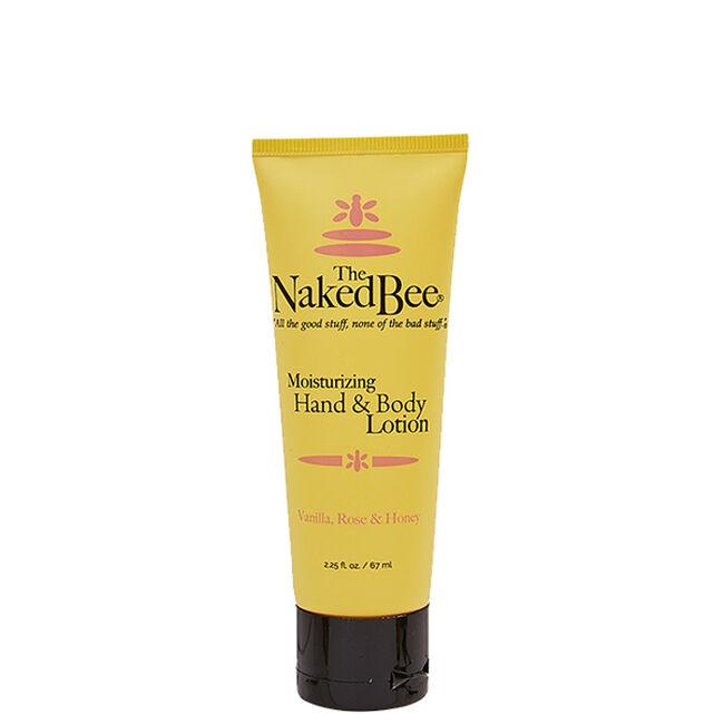 Naked Bee Vanilla Rose & Honey Lotion - 2.25 oz image number null