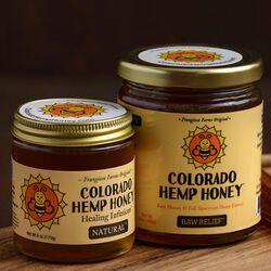 Colorado Hemp Honey for People & Pets - Raw Relief