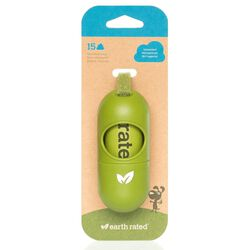 Earth Rated Leash Dispenser - 15 Unscented Bags