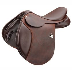 Bates Caprilli Close Contact Heritage Leather Saddle