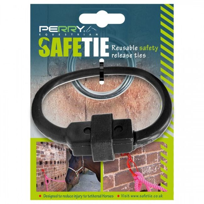 Perry Equestrian SafeTies - Black image number null