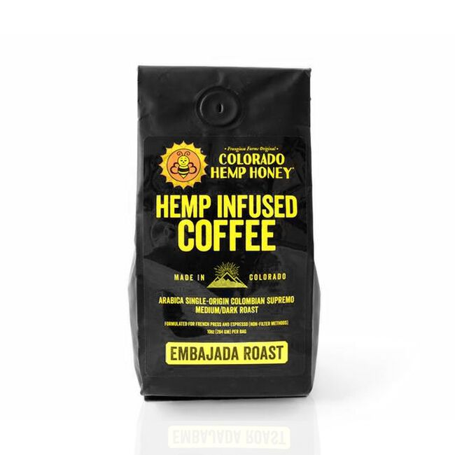Colorado Hemp Honey Hemp Infused Coffee - 10oz image number null